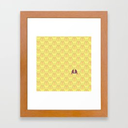 DOUBLE KING: Field Day Framed Art Print