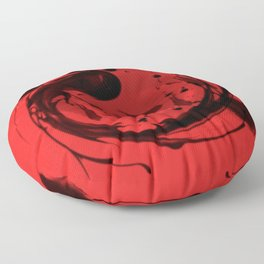 chinese feng shui redfish Floor Pillow