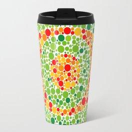 Colour Blindness Eye Travel Mug