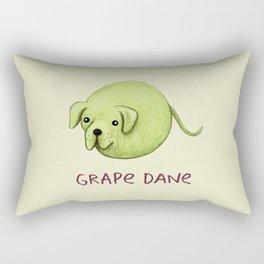 Grape Dane Rectangular Pillow
