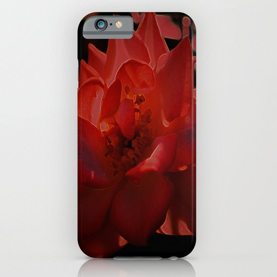 rose red iPhone & iPod Case