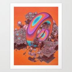 HARD CROP (everyday 01.19.17) Art Print