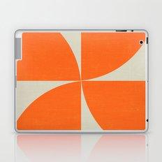 mod petals - orange Laptop & iPad Skin