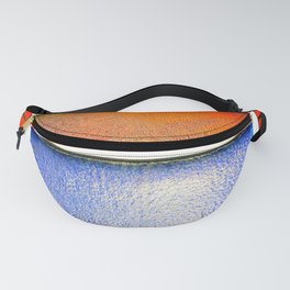 Colored Glass Panes Fanny Pack