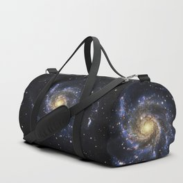 Spiral Galaxy M101 Duffle Bag