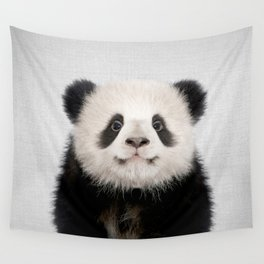 Panda Bear - Colorful Wall Tapestry