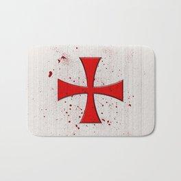 The Crusades Bloody Knight Templar Bath Mat