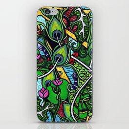 Peacock Paradise iPhone Skin
