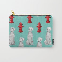 HYDRANTS AND WEIMARANERS Carry-All Pouch