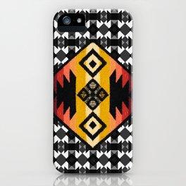 Boho Mapuche iPhone Case