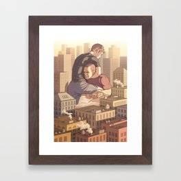 Mat Life Framed Art Print
