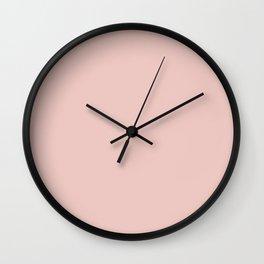 Sakura Solid Color Block Wall Clock