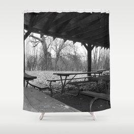 Intrusion Shower Curtain