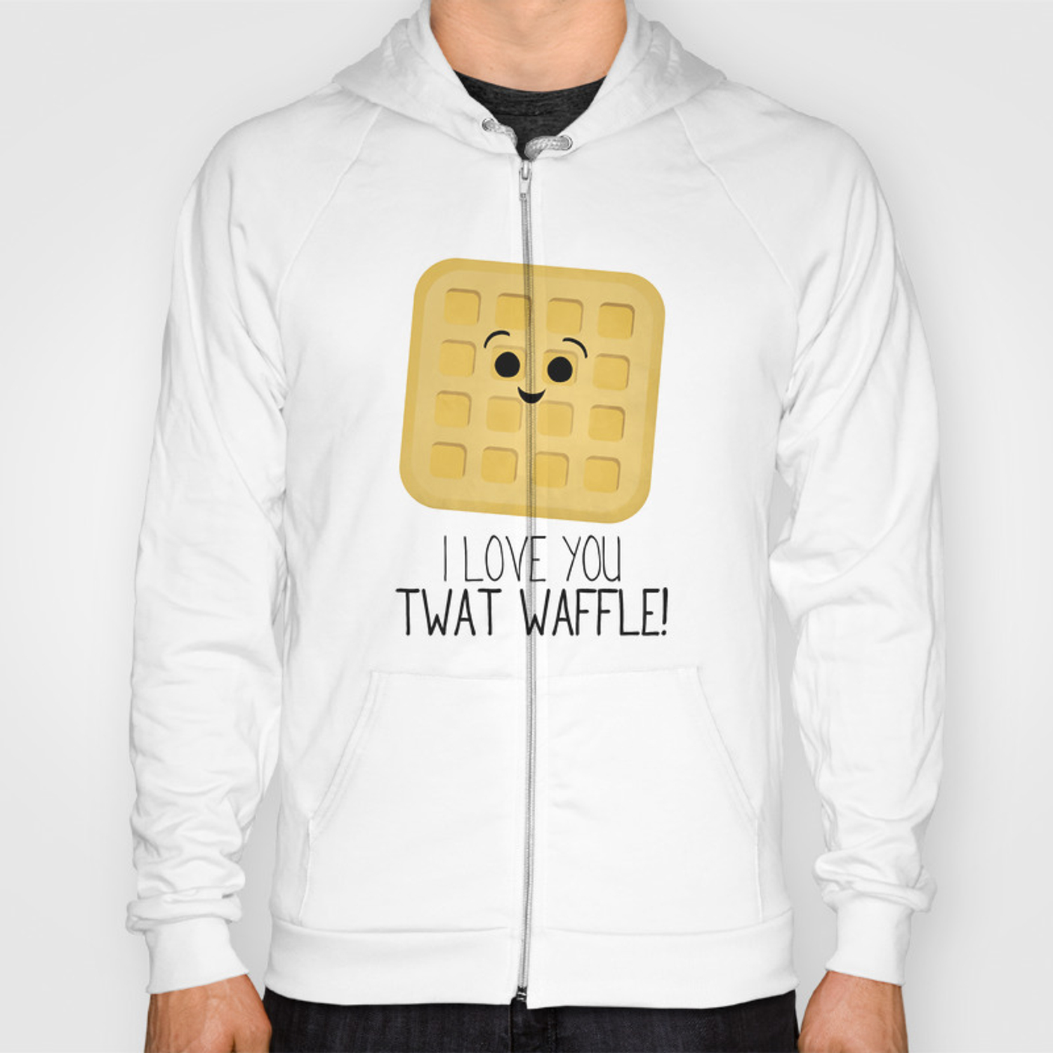 ef34d2290 I Love You Twat Waffle Hoody by avenger | Society6
