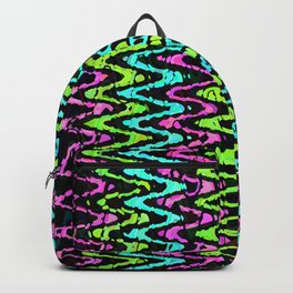 Wavy Neon Backpack