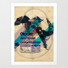 Glaciers - Exploration #4 Art Print