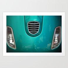 Ol Car Detail Art Print