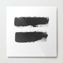 All equal Metal Print