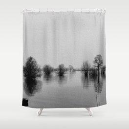 Die Elbe Shower Curtain