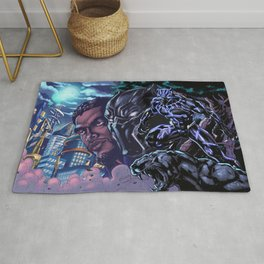 Black Panther: Wakandan Warrior Rug