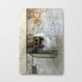 Abandoned Outlet Metal Print