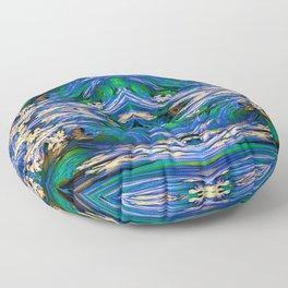 Fluid Paint 3 Floor Pillow