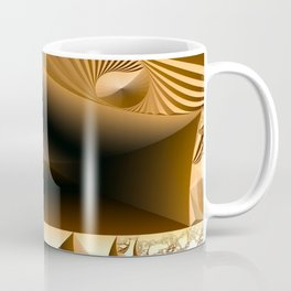 Golden layers of mysterious details Coffee Mug