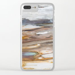 Yellowstone National Park - Thermophiles, Norris Geyser Basin Clear iPhone Case