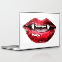 vampire Laptop & iPad Skins featuring Vampire by RemiJC Designs