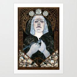 The Norn Urðr Art Print
