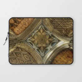 Peterborough Cathedral Roof Laptop Sleeve