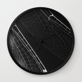 Fragile Wings Wall Clock