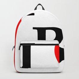 I love BJ - The cult shirt black2 Backpack