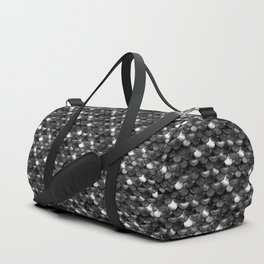 Black and White Scales Duffle Bag