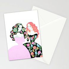 whispers of the heart Stationery Cards