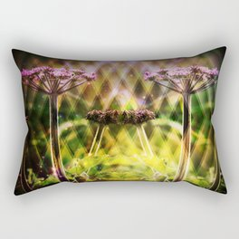 Freaky Plant  Geometric Rectangular Pillow