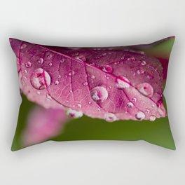 DROPS THE MIC Rectangular Pillow