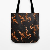 firefly Tote Bags featuring Firefly by HALETA