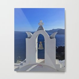 Greece Sea Metal Print