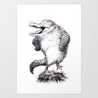 Crocken Art Print