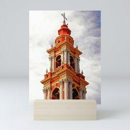 San Francisco church in Salta, Argentine | Terra-cotta | Travel Photography Mini Art Print