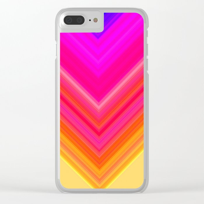 colors Clear iPhone Case