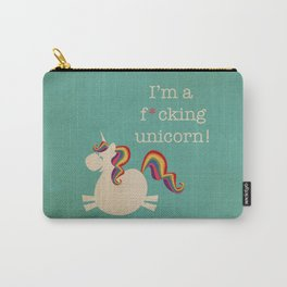 Unicorn - I'm a maturely speaking unicorn!!! Carry-All Pouch