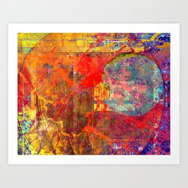 The Weather B Art Print