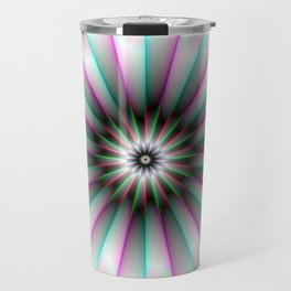 Beaming Flower Travel Mug