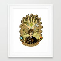 arrakis Framed Art Prints featuring The Sleeper Awakens by Serge-o-sketch