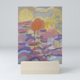 The Sun looks like a Tangerine at Twilight Mini Art Print