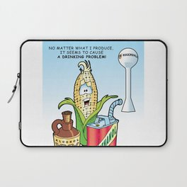 Ethanol & Alchohol Drinking Problem Laptop Sleeve