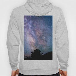 The Night Sky II - glowing stars Hoody