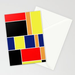 Abstract #404 Stationery Cards